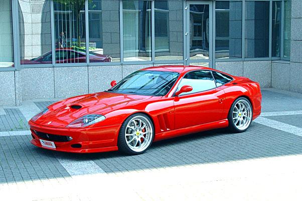 Chiptuning Ferrari 550 486 pk