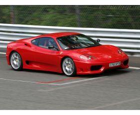 Chiptuning Ferrari 360 3.6i V8 Modena (F131 B40) 401 pk